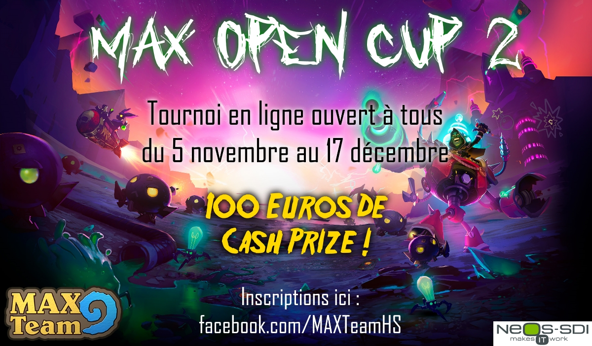 MAX Open Cup 2