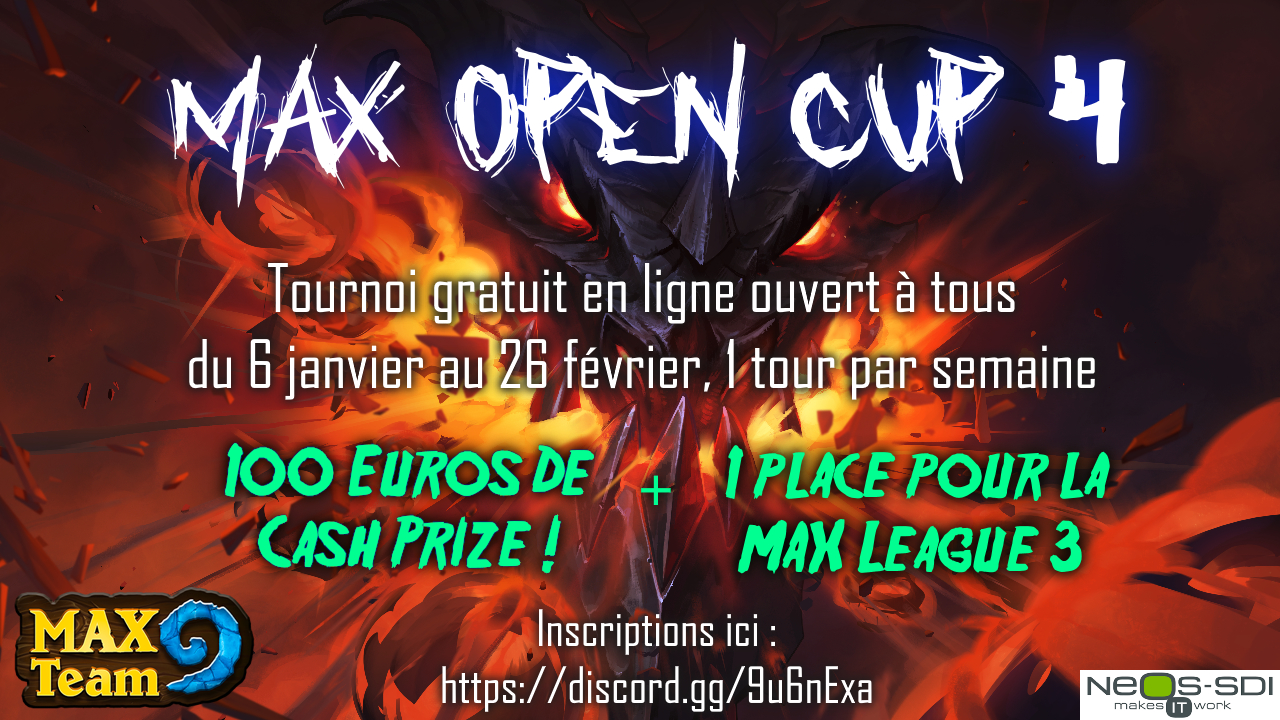 MAX Open Cup IV
